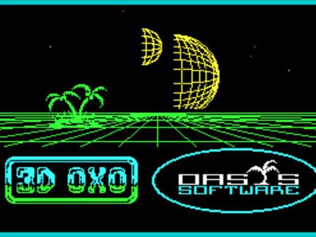 Invader Cube aka 3D OXO