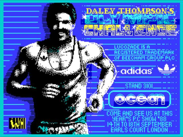 Daley Thompson's Olympic Challenge