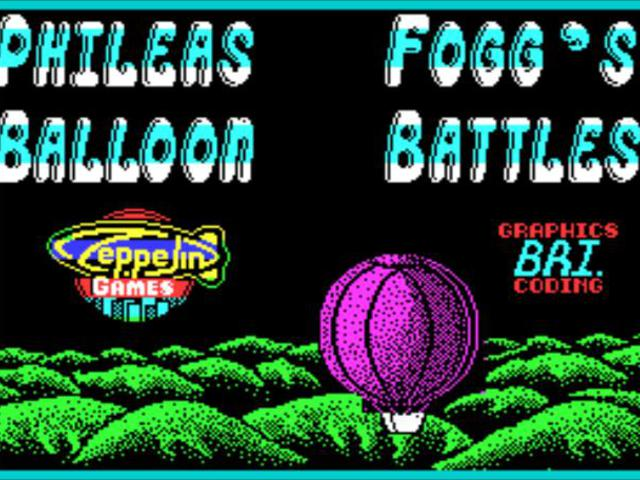 Phileas Fogg's Balloon Battles