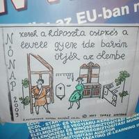 Meghekkelt plakátok