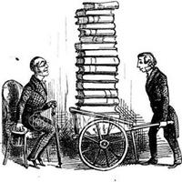 Antikvár könyvpiac a Mikszáth téren