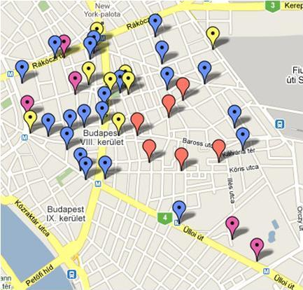 budapest romkocsma térkép MK   Belvár   8ker budapest romkocsma térkép