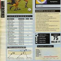 Tiszakécske FC-Eurobusz 1997/98