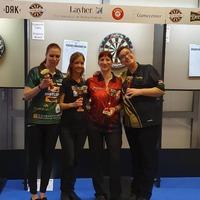 Ihász Veronika a magyar dartsbajnok