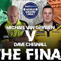 Chisnall–van Gerwen döntő lesz Dublinban