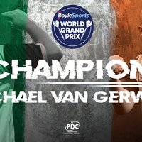 Michael van Gerwen ötödször a Grand Prix bajnoka