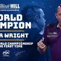 Peter Wright először lett a PDC világbajnoka