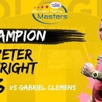 Peter Wright 10 hónap után nyert ismét tornát