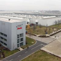 Az Audi Hungária szépen termel