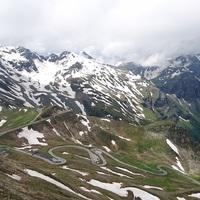 Kilátás az Edelweiss csúcsról