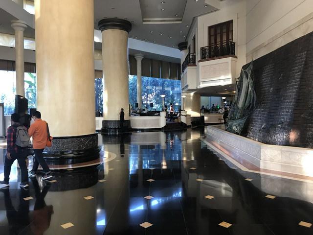 J. W. Marriott egy lábnyoma Surabayában (hotel)