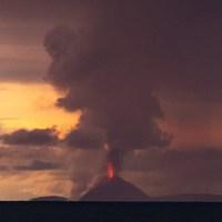 Vulkán kitörés és cunami - Krakatau 2.0