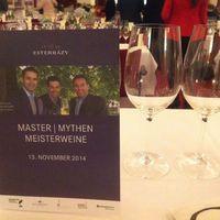A három osztrák MW kedvenc borainak bemutatója – Kismarton, Eszterházy kastély,  1. etap