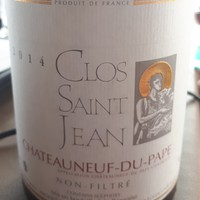 Clos Saint Jean, Chatenauf-Du-Pape, 2014