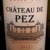 Chateau de Pez 2012, Cru Bourgeois Exceptionelle,