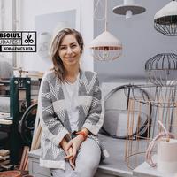Papírhulladékból design lámpa - Interjú Koralevics Ritával, a Paper Up! alapítójával