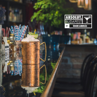 Absolut Moscow Mule twist by Ódor András