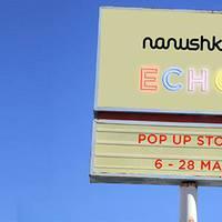 Nanushka ECHO pop up store megnyitó