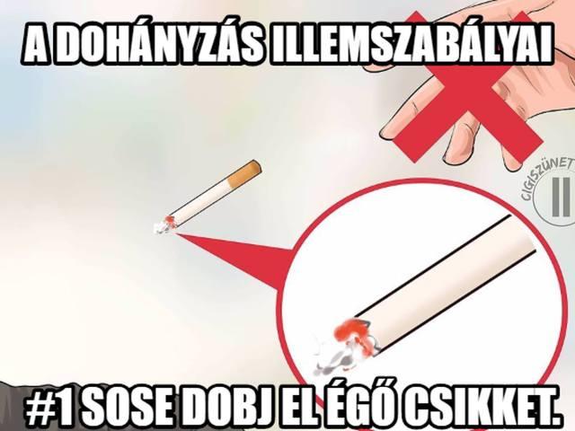 Dohányzó dobálás Olvasói levél: Cigi, tojás, olaj. Háború! - Szomszédháború