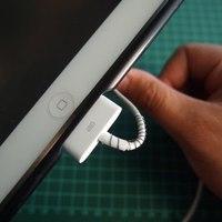 Az elszakadt iPhone töltőkábel javítása