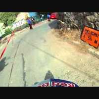 Downhill a chilei nyomornegyedben
