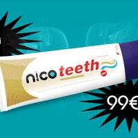 Nikotinos fogkrém a sárga fogakért