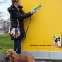 Reklámmal a kutyaszar ellen