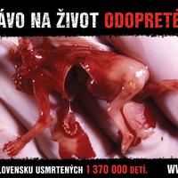 Sokkoló abortuszkampány
