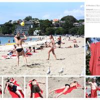 Vérbefagyott nyaralók a vízparton