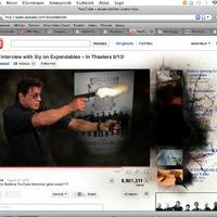 Stallone cafatokra szedi a Youtube-ot