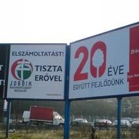 Jobbik-Quaestor plakátbaki