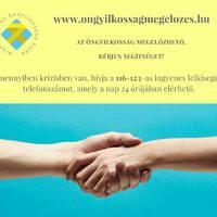 Krízisben vagy?  - segítségnyújtást itt kaphatsz