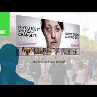 Zseniális plakát készült a családon belüli erőszak ellen