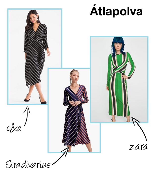 96392a4db5 A legjobb csíkos ruhák 2018-ban - Add meg a MODE-ját!
