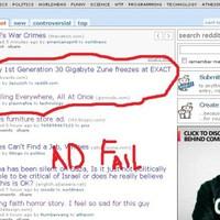 Zune 30 ad fail...