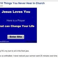 Jézus szeret (?)