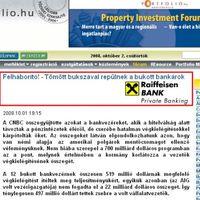 Bukott Bankárok Bankja