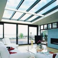 Télikert tetőablak és üvegezése