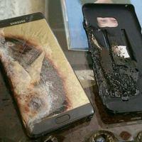 Robbanó, olvadó, égő Samsung Galaxy Note 7 mobiltelefonok