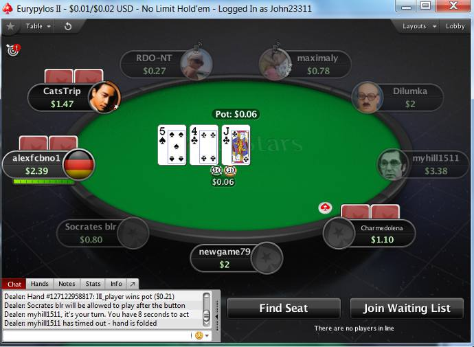pokerstars online poker