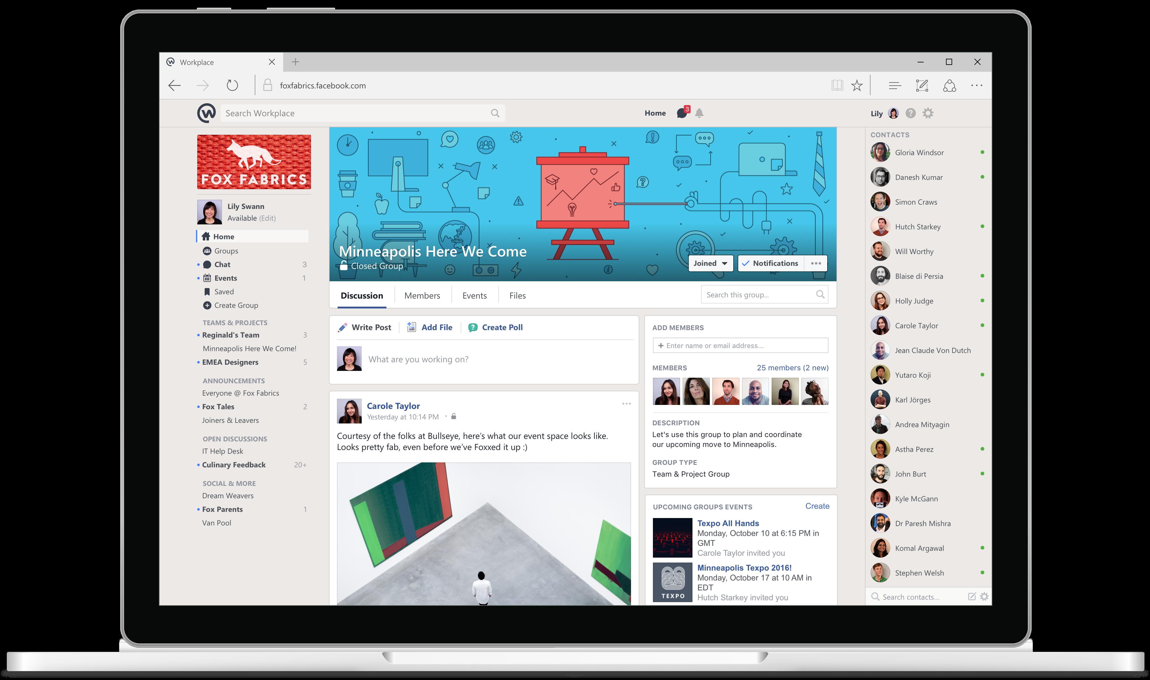 workplace group desktop