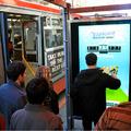 Yahoo-játékok a buszmegállókban