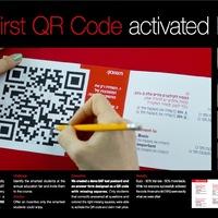 IQ aktivált QR-kód