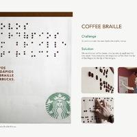 Jó ezt látni: Starbucks menü vakoknak