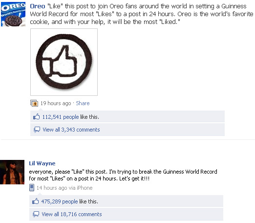 Kié lesz a Facebook-rekord?