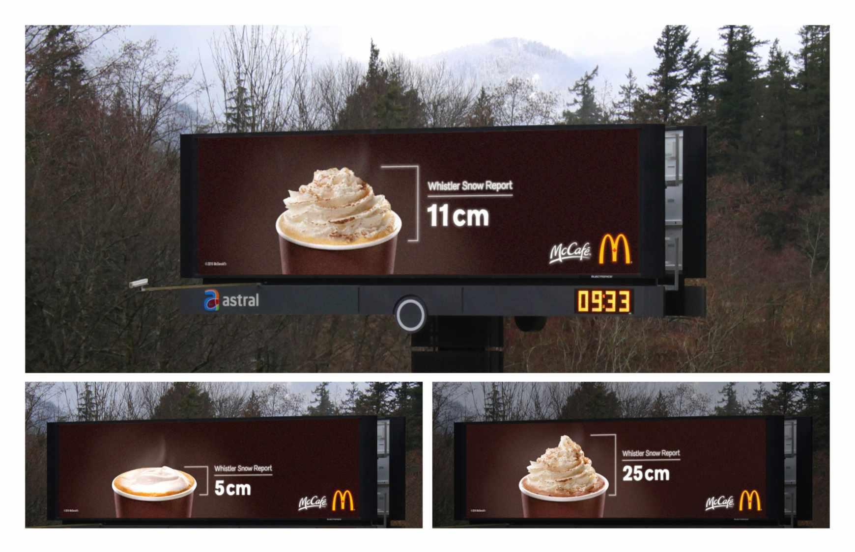 A McCafe hójelentése