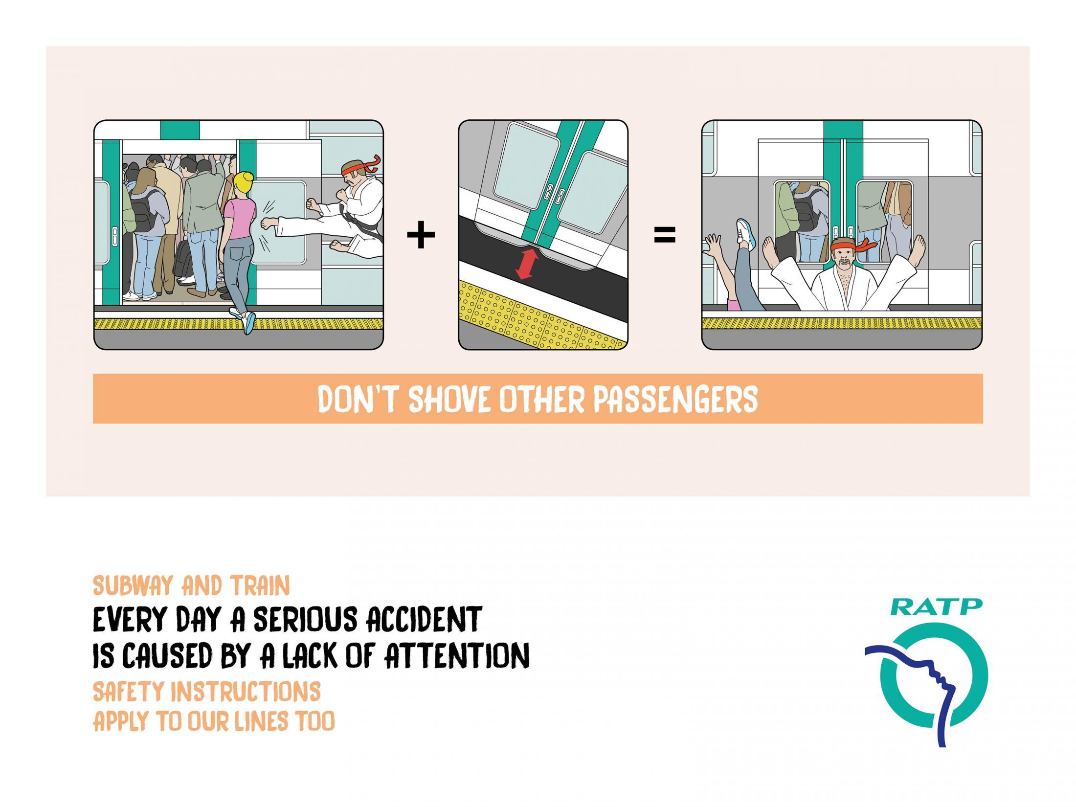 Ne rúgd hátba a felszálló utast! Közlekedési etikett.