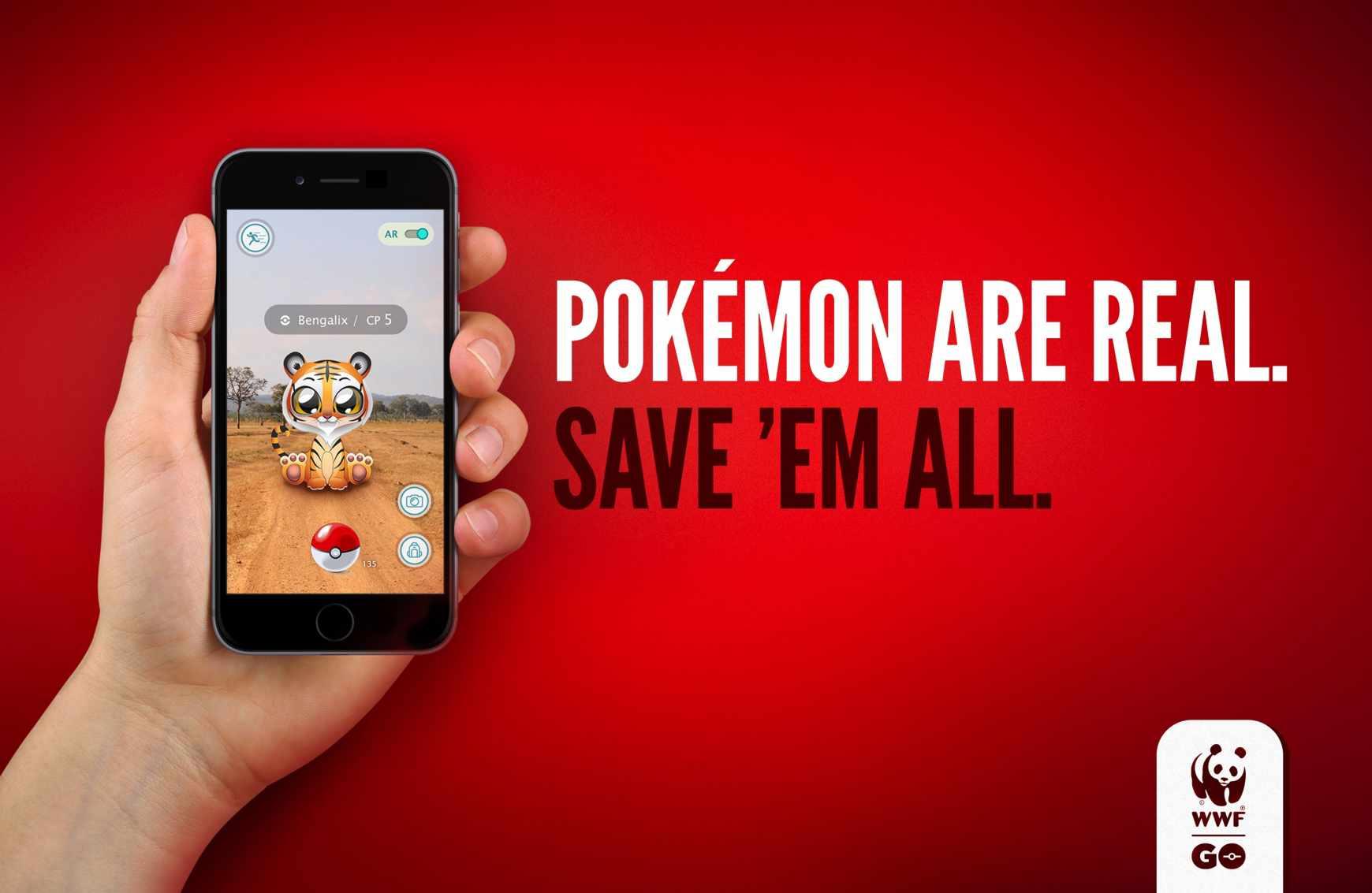 Pokémon GO vs. WWF
