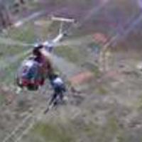 Vezeték ellenőrzés helikopterrel