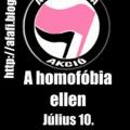 Antifasiszták a homofóbia ellen